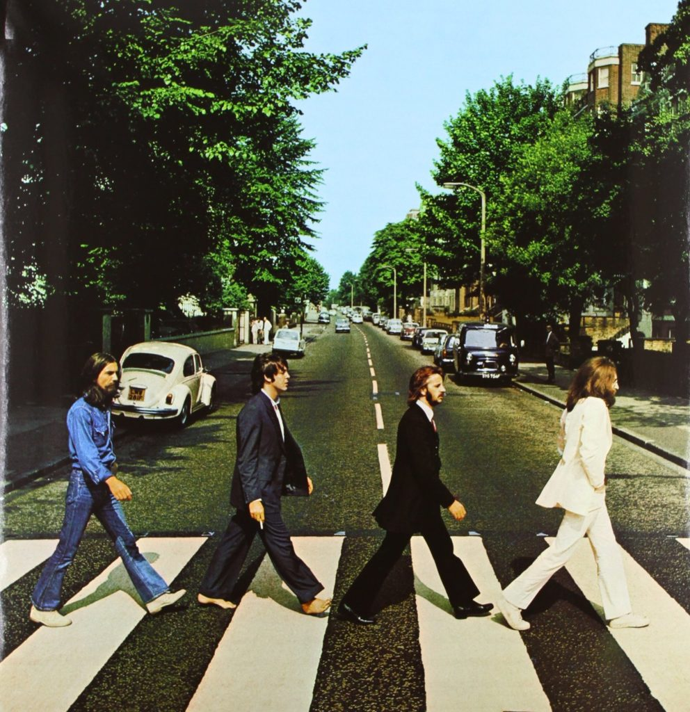 The Beatles Abbey Road Cover Sleeve Artwork Vinyl record player best
