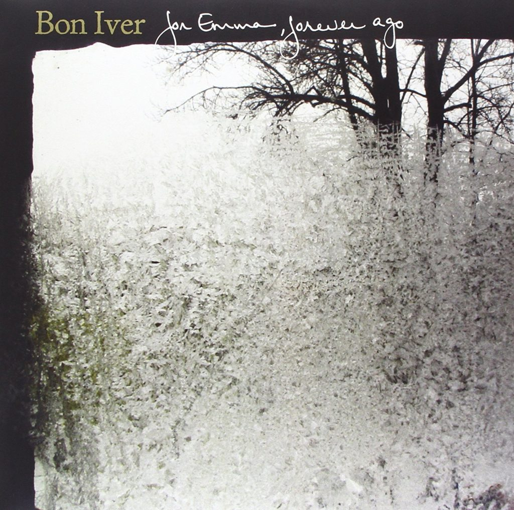 Bon Iver album best cover artwork record player