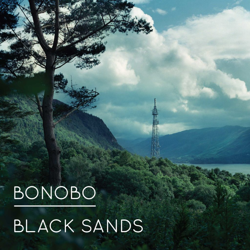 Bonobo Black Sands album cover artwork vinyl record player best