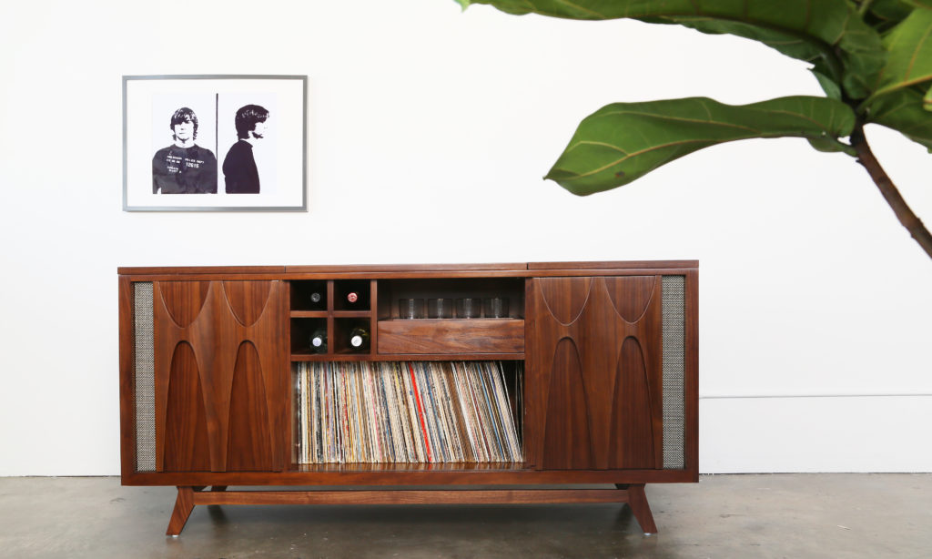 Egb2 By Luno Record Player Stand Console Cabinet