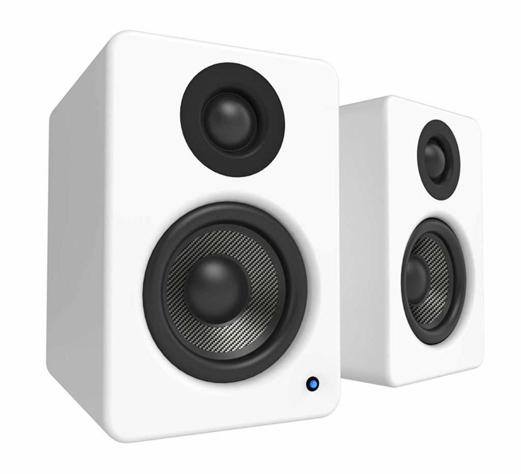 Kanto YU6 Best Powered Bookshelf Speakers Under 500