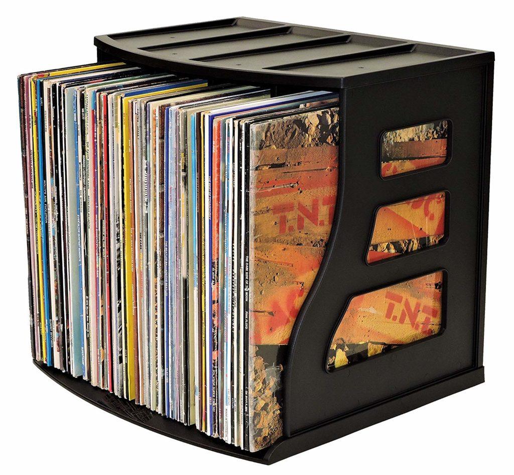 12 Practical Stylish Record Crates Vinyl Storage Boxes