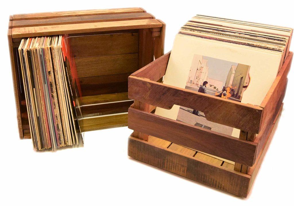 12 Practical Amp Stylish Record Crates Amp Vinyl Storage Boxes