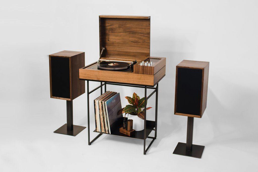 Loft By Wrensilva Record Player Stand Console Cabinet