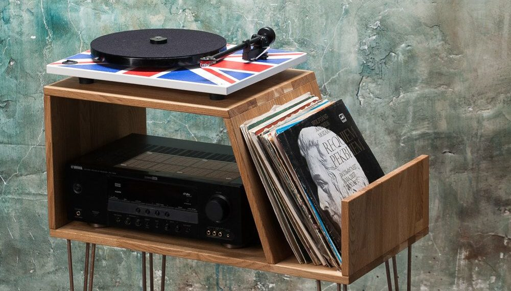 12 Stylish Affordable Record Player Stands
